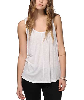 Zine Rho Ribbed Tank Top
