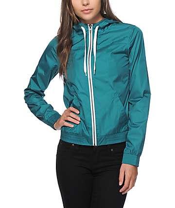 Zine Shaded Spruce Windbreaker Jacket