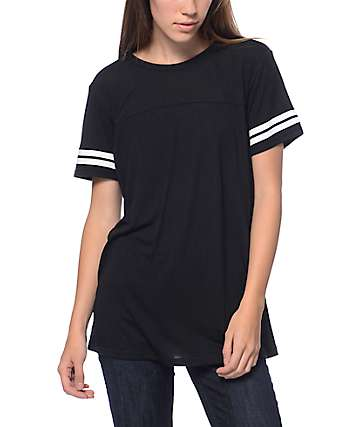 Zine Sherman Black & White Stripe T-Shirt