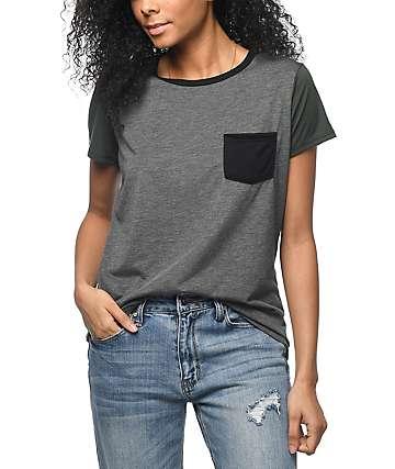 Zine Sima camiseta con bolsillo