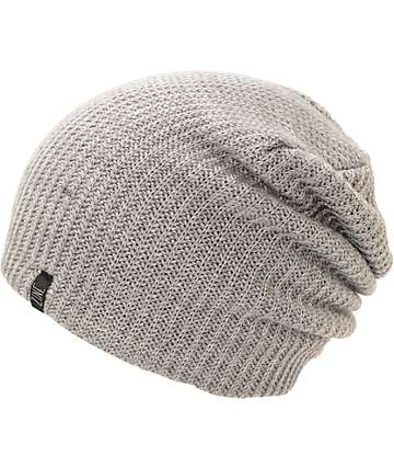 Zine Smith Heather Grey Beanie