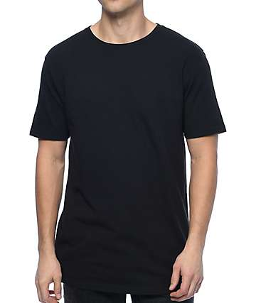 Zine Split Black T-Shirt