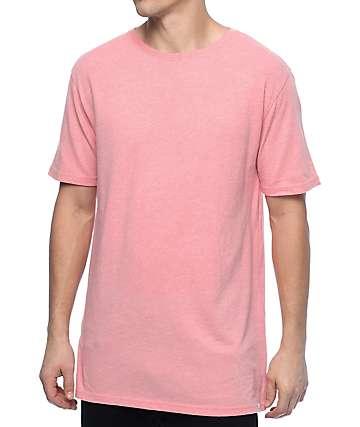 Zine Split Flamingo camiseta rosa