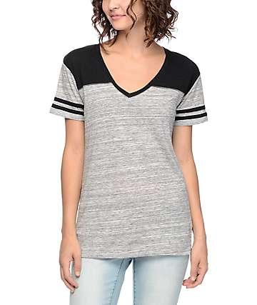 Zine Tanner Space Dye Varsity T-Shirt