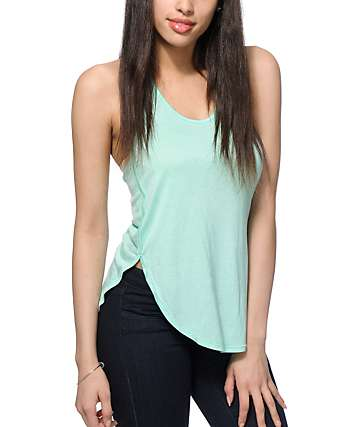 Zine Tau Mint Tank Top