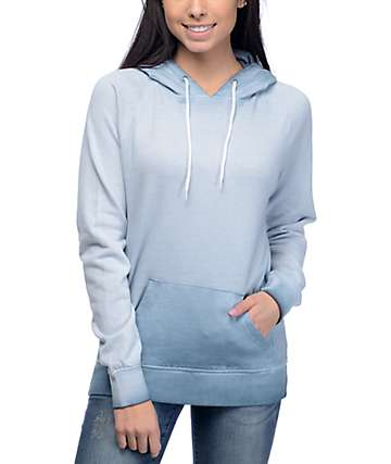 Zine Tera Ashley Blue Pigment Hoodie