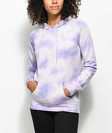 Zine Tera Lavender Tie Dye Hoodie