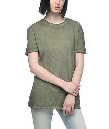 Zine Tibbie Olive Pigment T-Shirt