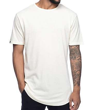 Zine Top Shelf camiseta en color crema