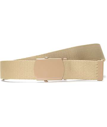 Zine Webster Dark Khaki Web Belt