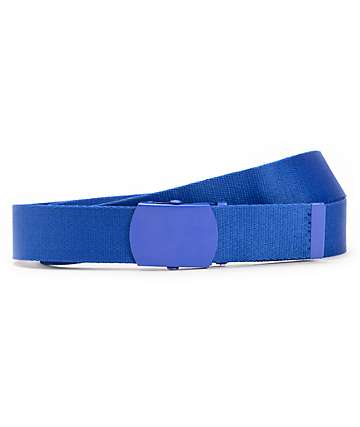 Zine Webster Royal Blue Web Belt