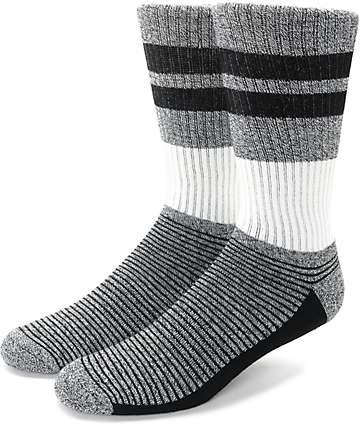 Zine You Betcha calcetines en blanco y negro