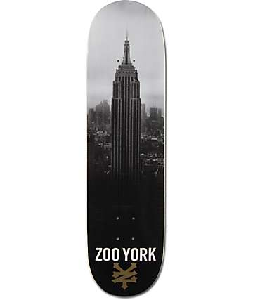 "Zoo York Empire State 8.25""  Skateboard Deck"