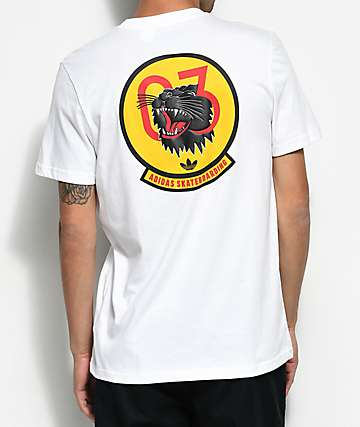 adidas Academy White T-Shirt