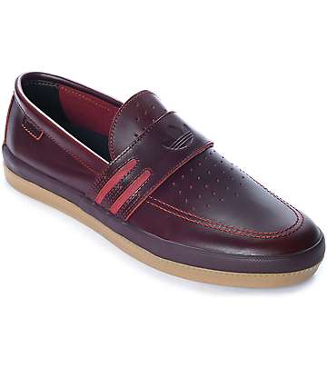 adidas Acapulco LTD Red Slip-On Shoes