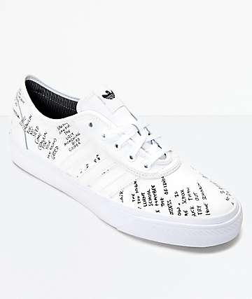 adidas AdiEase Gonz White Shoes