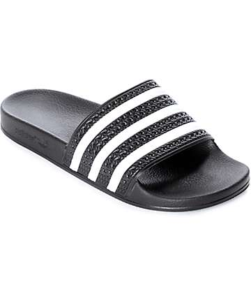 adidas Adilette sandalias negras