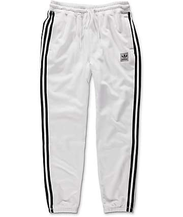 adidas BB White Sweatpants