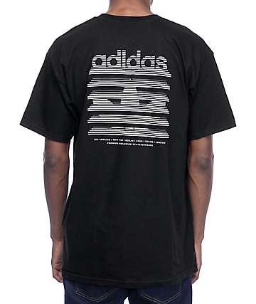 adidas Belmont Black T-Shirt