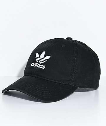 adidas Black Strapback Hat