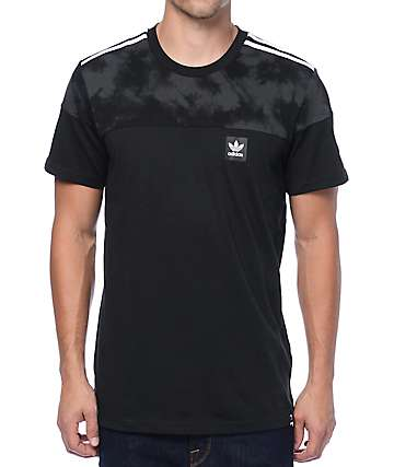 adidas Blackbird Block Black T-Shirt