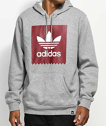 adidas Blackbird Heather Grey Hoodie