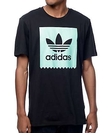 adidas Blackbird Logo Fill Black T-Shirt