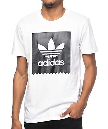 adidas Blackbird Logo White T-Shirt