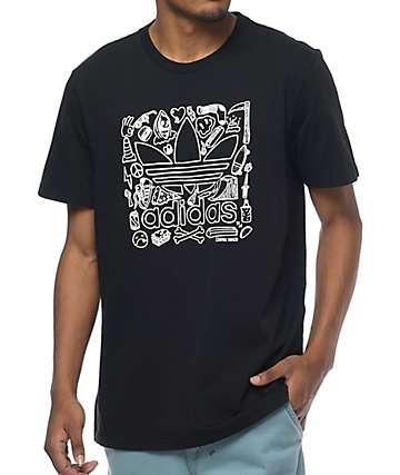 adidas Blackbird Terminal Radness Black T-Shirt