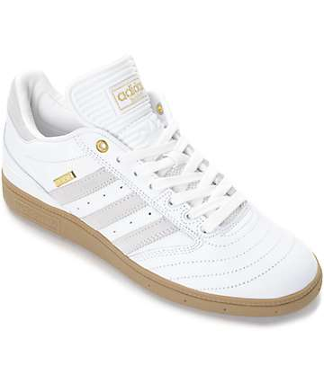 adidas Busenitz 10 Year Anniversary White & Gum Shoes