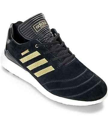 adidas Busenitz Boost 10 Year Anniversary zapatos en negro y oro
