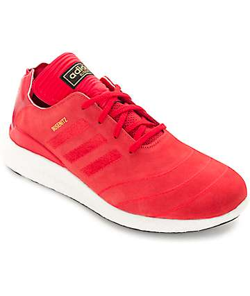 adidas Busenitz Boost Red & White Shoes