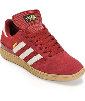 adidas Busenitz Burgundy Skate Shoes