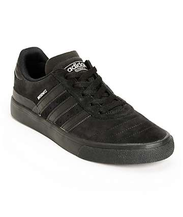 adidas Busenitz Vulc All Black Skate Shoes