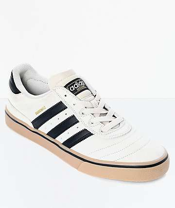 adidas Busenitz Vulc Light Brown, Black & Gum Shoes