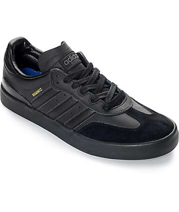 adidas Busenitz Vulc Samba Mono Black Shoes