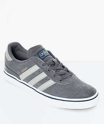 adidas Busenitz Vulc zapatos en gris y blanco
