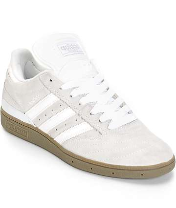 adidas Busenitz White Skate Shoes