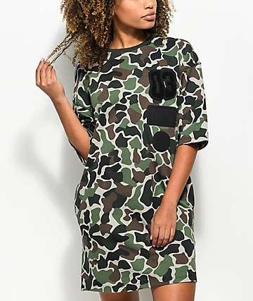 adidas Camo T-Shirt Dress