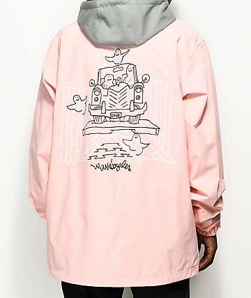 adidas Civillian Gonz 2.0 Pink 10k Snowboard Jacket