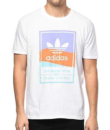 adidas Classic camiseta blanca