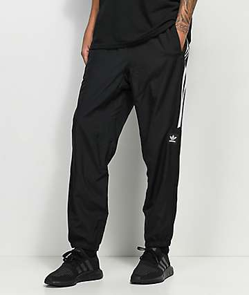 adidas Classic pantalones negros de chándal