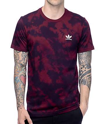 adidas Clima 2.0 Crystal Maroon T-Shirt