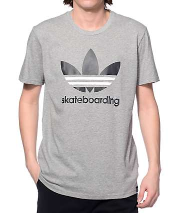 adidas Clima 3.0 Heather Grey T-Shirt