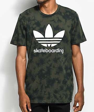 adidas Clima 3.0 Military camiseta con efecto tie dye