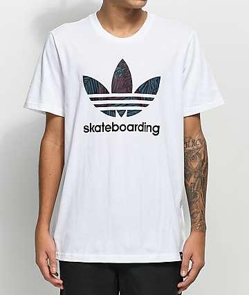 adidas Clima 3.0 Palm camiseta blanca