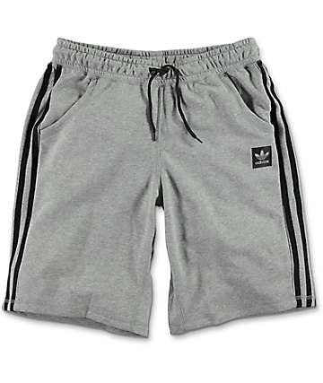 adidas Clima Knit 2.0 Heather Grey Shorts