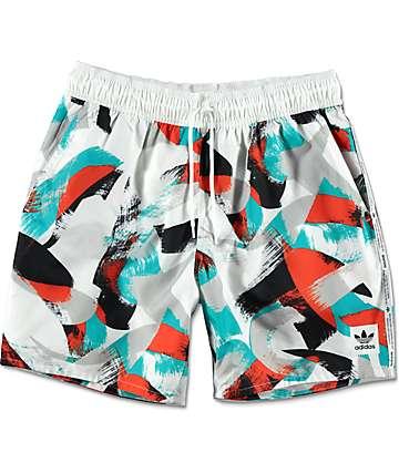 adidas Courtside White Shorts