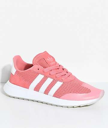 adidas Flashback Tactile zapatos en blanco y rosa