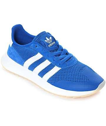 adidas Flashback zapatos en azul y blanco para mujeres